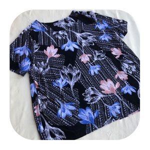 6/$15 JM Collection 2X women's blouse